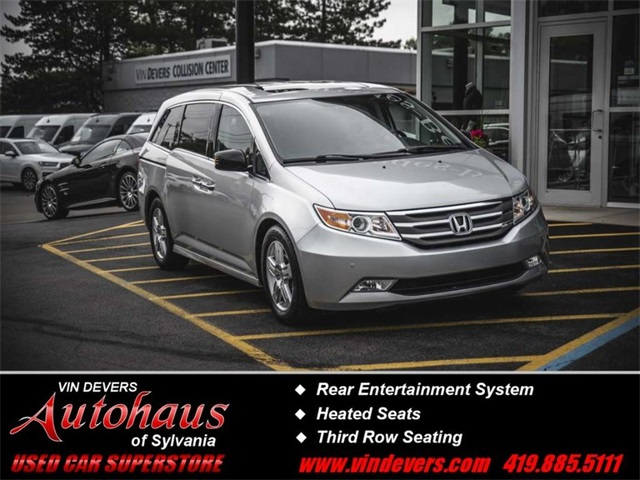 Pre-Owned 2013 Honda Odyssey Touring Elite