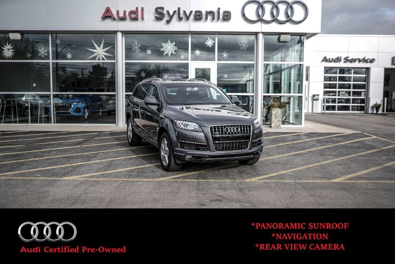 Pre-Owned 2015 Audi Q7 3.0L TDI Premium Plus
