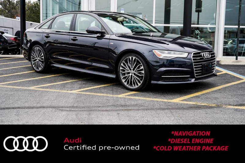 Pre-Owned 2016 Audi A6 3.0L TDI Premium Plus