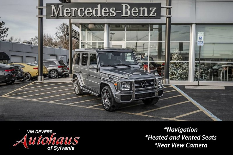 Pre-Owned 2016 Mercedes-Benz G-Class AMG® G 63 SUV