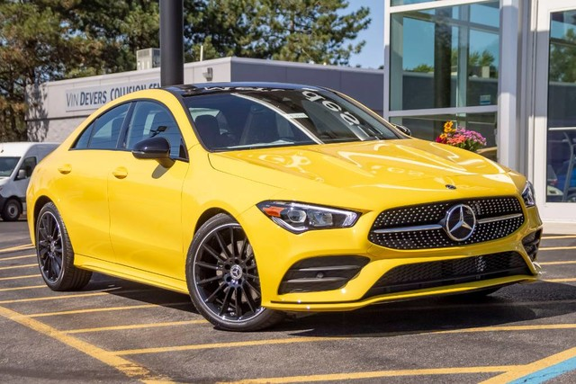 New 2020 Mercedes-Benz CLA 250 AWD 4MATIC®